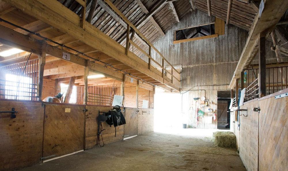 ett häst stall